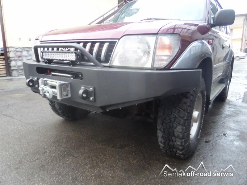 Semak 4x4: Toyota Land Cruiser J90 ZDERZAK - samochody ...